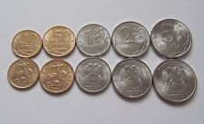 [RU54] Russia 2013 full set of coins 10 50 kopeks 1 2 5 roubles Saint-Petersburg
