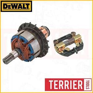 DeWalt 18v Armature Assembly Motor Carbon Brushes Impact Driver DCF885 DCF885M2