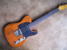 distressed relic tele guitar-no reserve