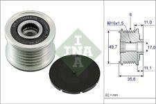 Overrunning Alternator Pulley fits MERCEDES C220 W204 2.1D 07 to 08 OM646.811