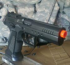 KWC CO2 blowback airsoft Para CZ 75 Match Tangofollio full metal race pistol gun