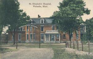 WABASHA MN - St. Elizabeth's Hospital - 1912