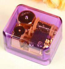 PURPLE GOLD WIND UP MUSIC BOX :  EVERGREEN @ WESTLIFE