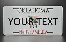 US AUTO USA CAR OKLAHOMA STATE LICENSE PLATE Kennzeichen Nummernschild DEIN TEXT