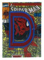 2014 Marvel Premier Spider-Man Code Name Insert Card UD Upper Deck D Patch CN-1