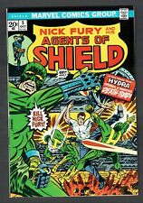 Nick Fury and his Agents of Shield #5 Vs. Hydra Marvel Comics 1973 VF Steranko