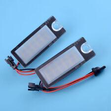 2 Stück LED Kennzeichenbeleuchtung Weiß Leuchte für Volvo S80 V70 XC70 S60 XC90