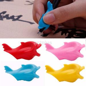 10PCS Pencil Grip Kid Children Hand Writing Correction Aid Pen Posture Hold Help