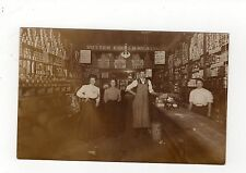 BUTLER'S? STORE INTERIOR, NORTH BRADDOCK: Pennsylvania USA postcard (C2526).