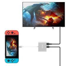 Adaptateur USB Type C vers 1080P HDMI pour Nintendo Switch, USB C PD Port