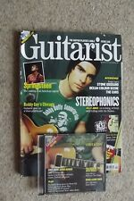 GUITARIST 240 +CD - STEREOPHONICS, SPRINGSTEEN, CHICAGO BLUES, PEARL JAM, CARS.