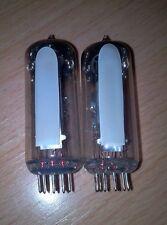Ein Paar 6E2 = EM87 VU Tuning Meter Magisches Auge Magic Eye Röhre Preamp Radio