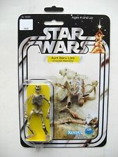 Vintage STAR WARS AUNT BERU CHARRED REMAINS CUSTOM on New Hope Style MOC
