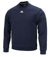 Adidas Men Must Have 3S Crew Shirts L/S Navy Training Jersey Tee Shirt Fi7952