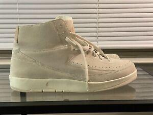 Air Jordan 2 Retro Decon Beige Sail Men's Size 13 Sneaker
