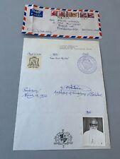 AMBROSE RAYAPPAN  †1999 Bishop of India  signed convolute from 1972 rare