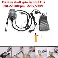 Hanging Flexible Shaft Mill Grinder Motor Jewelry Design&Repair Tool Kits 380W