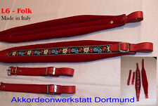 6 cm Akkordeongurte,Riemen,Bretelles,accordeon,correas,acordeón,Accordion Straps