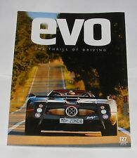 EVO Magazine Februar 2009-Zonda F Roadster/Neue Porsche Cayman/MEGANE R26.R