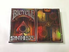 CARTE DA GIOCO BICYCLE SYNTHESIS RED,poker size,unlimited