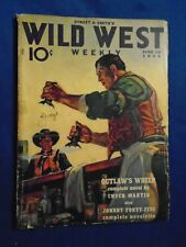 Wild West Weekly 2 Issue Lot 1939