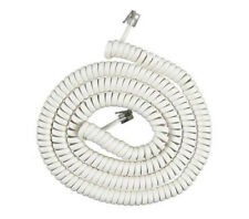 AT&T 25 Foot White Telephone Coil Cord New for AT&T Phones