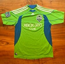 2009 SEATTLE SOUNDERS FC XBOX 360 Live Adidas ClimaCool Soccer Jersey Youth Lrg