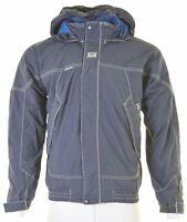 HELLY HANSEN Mens Windbreaker Jacket Size 38 Medium Blue Nylon JN01