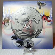 2014 Canada $20 for $20 #14 SNOWMAN 1/4 oz $20 99.99% Pure Silver Coin+COA Card