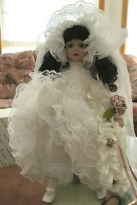 """Vintage Hillview Lane limited edition collection doll 18.5"""""""