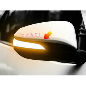 For Toyota Hilux Fortuner Innova Side Wing Mirror LED Dynamic Turn Signal Light