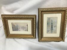 Paul Sawyier Old Capitol And Wrapping Street Fountain Framed Pictures