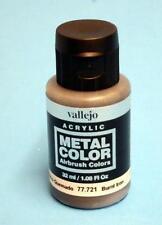 Vallejo Metal Color 32ml Burnt Iron VAL 77721