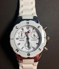 Michele Tahitian Jelly Bean White Watch  MWW12F000001