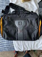 TUMI TECH Adventure Boarding Carry On Bag 5754D Black 15.5x8x13 Light Wear