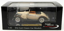 Signature Models 1/43 Scale PM43705 - 1937 Maybach SW38 2Dr Spohn - Beige
