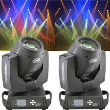 2PCS 7R 230w Beam DMX 512 16CH Moving Head Light Zoom Gobo Party DJ Lighting