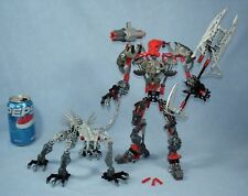 Lego Bionicle 8924 MAXILOS & SPINAX Toa Mahri set 100% Complete with all Weapons