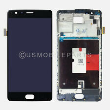 LCD Screen Touch Screen Digitizer + Frame Replacement Parts For OnePlus 3T A3010