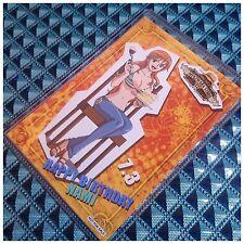Mugiwara Store Limited One Piece Birthday Celebration Original Bromide Card NAMI