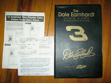 #3 Dale Earnhardt 22 Karat Gold Foil Card Collection Sam Bass W/ Cert of Authent