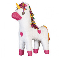 Unicorn | Rainbow | Pink Hearts Pinata | Party Game | Decoratoin