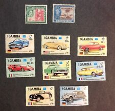 The Gambia VF Used & MNH
