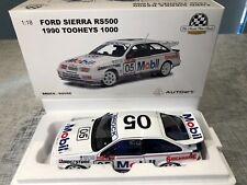 1:18 Ford Sierra RS500 1990 Tooheys 1000 Brock #05 AUTOart RARE BNIB COA