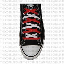 Flat Reversible 2-Tone Laces -Converse Replacement-Made in USA-Buy 3 852363621