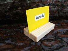 Set of 10 Table name card holders, wedding decor, place card holder