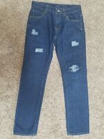 BUCKLE LUCKY BRAND womens jeans Billie Straight sz 16 - 27 x 28 GREAT condition