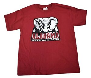 E5 Youth Boys Alabama Crimson Tide Shirt NWT S(6-8)