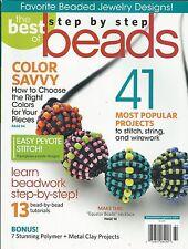 Beads magazine Peyote stitch String Wirework Jewelry designs Polymer Metal clay