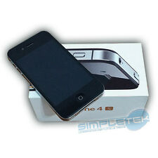APPLE IPHONE 4S 32 GB LIKE NEW BLACK WITH BOX ORIGINAL, ACCESSORIES, WARRANTY